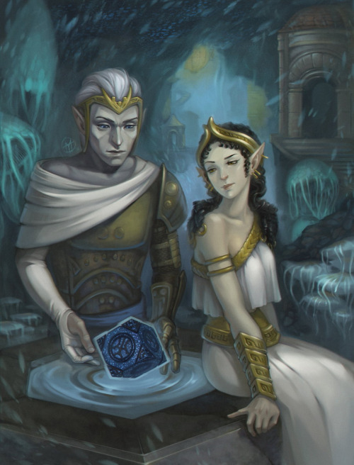 Rockseer-Elves (the Lanthyr) - Corwyn